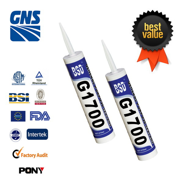 Plastic glass mirror silicone sealant joints fungicide cost effective