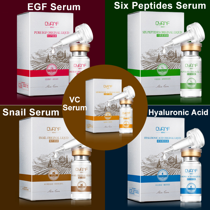 Snail Serum Lavender Serum Hydraulic Acid Serum Six Peptides Serum EGF Acne Scar Removal Essence