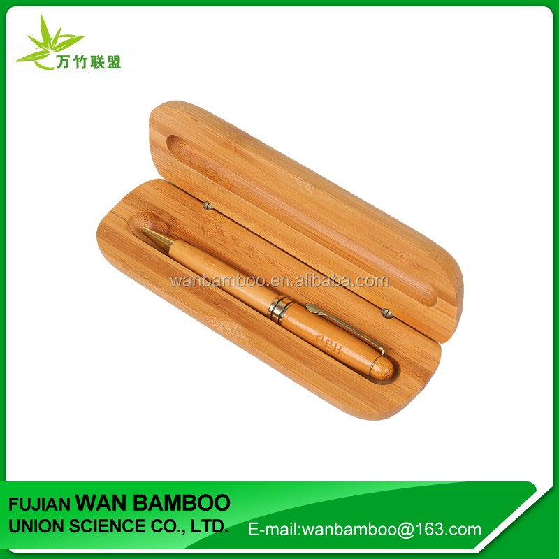 Empty Bamboo Pen Gift Box