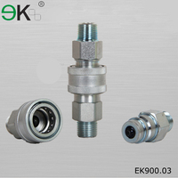 Iso 7241 A Series Male Thread Hydraulic Quick Coupler,Plug Socket Hydraulic Fluid Quick Coupler,stainless steel quick coupling