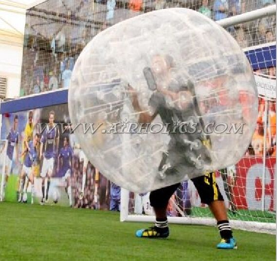 1.5m PVC Bumper Ball Inflatable Ball Suit, Bubble Football, Outdoor Loopyball W7095