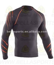 2012 Embroidery Logo Cooldry Ice Hockey Top Hockey shirts Hockey Jerseys pullover style compression wear