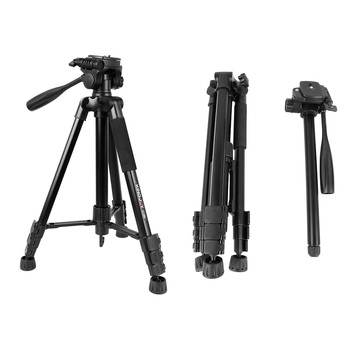 OEM new 4 section aluminum best camera portable tripod photographic monopod tripod