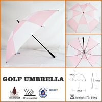 eva beautiful unique promotional golf umbrella with high quality