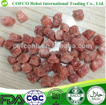 dried strawberry dice,frutas snack