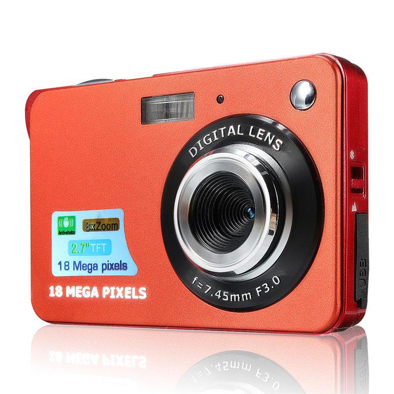"""Portable Mini Caméra 2.7 """"720 P 18MP 8x Zoom TFT LCD HD Appareil Photo Numérique Caméscope DV Anti- secouer Photo Pour Enfants Cadeau - ANKUX Tech Co., Ltd"""