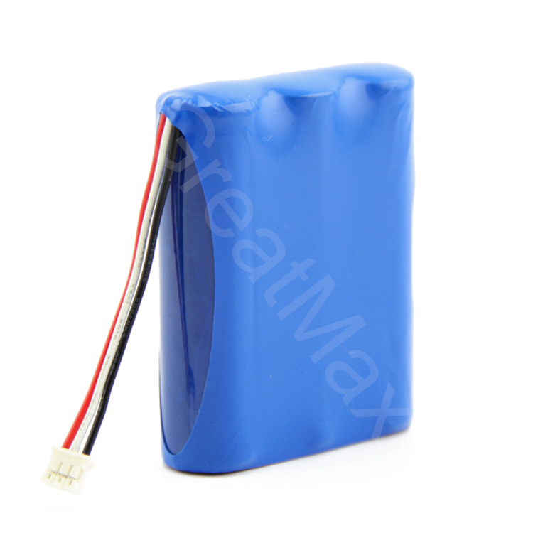 Rechargeable 11.1v 2200mah li-ion battery pack for LED/lighting system/flash lights