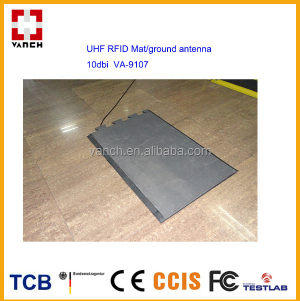 10dBi waterproof UHF RFID underground sports timing floor mat antenna for sports matches linear polarization