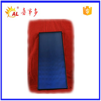 copper pipe flat plate solar collector for solar water heater