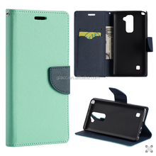 Flip Cover Cases for LG stylus 2/ stylo 2 / K520/ K540 /LS775 Design Dual-Use Flip PU Leather Fold Wallet Pouch Case