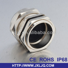 cable manufactor IP68 Waterproof PG16 shielded cable gland brass pipe products