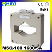 flexible current transformer 1600/5a AC current transducer MSQ-100