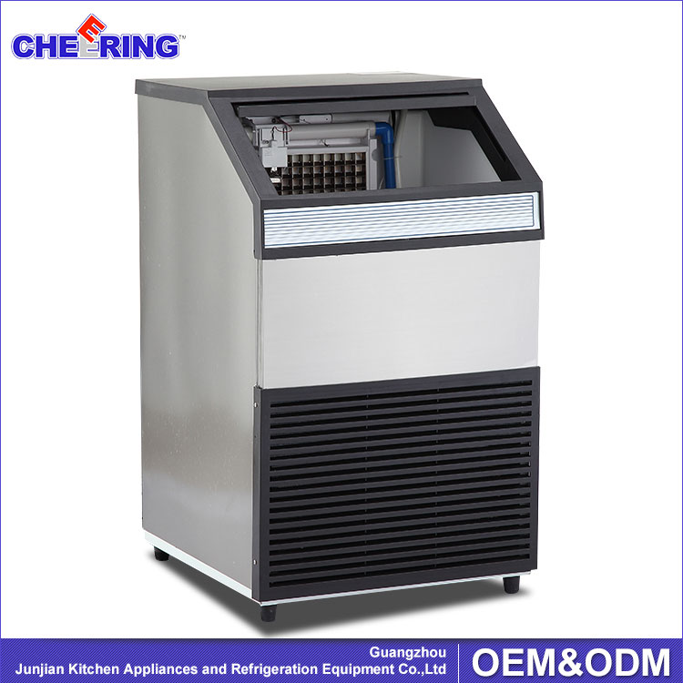 CE Ice Cube Machine , 60kg Ice Cube Maker , Commercial Ice Maker