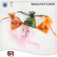 The best selling products custom drawable organza bags import china goods