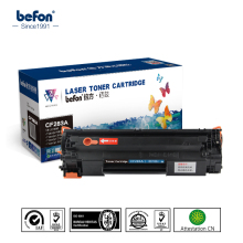 universal compatible toner cartridges cf283a 83a for hp chip reset for hp 83a toner cartridge