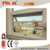 2017 new hot sale double glazed aluminum awning window for Australia