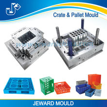 Plastic 24 bottles beer crate mould / injection crate molding with beautiful design