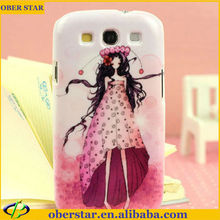For Girls Lovely Mobile Phone Case for Samsung Galaxy S3/I9300