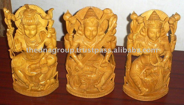 home decoration God/lord/Goddess wooden carvings