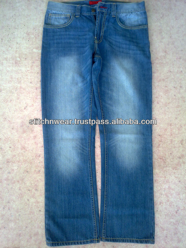 Fashion new design high quality wash men jeans