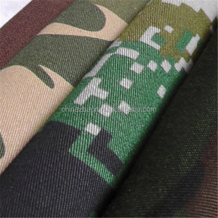 Cheap price military camouflage fabric wholesale stocklot in warehouse