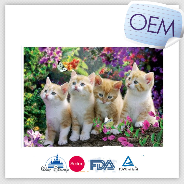 Lenticular Picture 3D PP/PET animal image