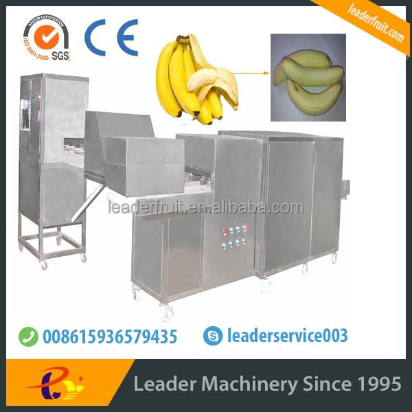 Leader industrial yellow pisang peel machine with a new design
