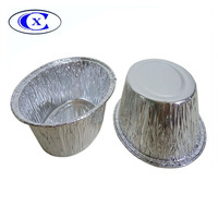 200ML oblong disposable aluminum foil container for baking bread and food