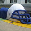 custom inflatable football helmet,inflatable tunnel for big event China factory price