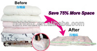 vacuum pack mattress bags with pump for pillow