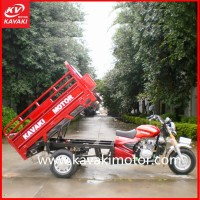 KV150ZH-B Beautiful Red Color Hot Sales In Nigeria Popular Classic Automobile Tricycle With CCC ISO SONCAP Certificate