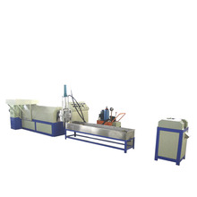 PS / PE plastic sheet granulator foam recycling machine