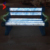 New design waterproof Outdoor led garden bench