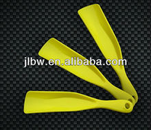 15cm plastic shoehorn for shoe easy use print customer's logo