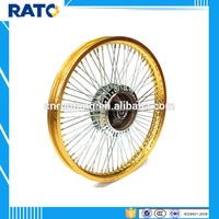 Aftermarket gold rear wheel balance weight for 70cc motorcycle
