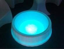 Multicolored light LED bright design furniture for saloon/bar/pub with Wireless or WiFi Control