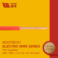 IEC60227 Factory Offer 6mm Hard PVC Insulated Electric Cable Wire