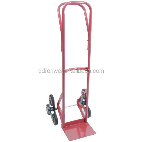 easy pull six wheel hand trolley for climbing stairs hand trolley