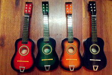 2015 New children wooden guitar, popular wooden kids guitar,hot sale electric guitar W07H013