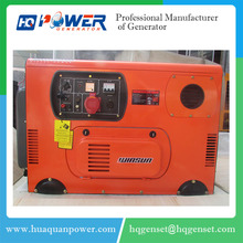 mini ac high speed brushless diesel 13kva generator