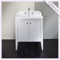 "27"" Modern White Solid Wood Bathroom Cabinet QI-1081"