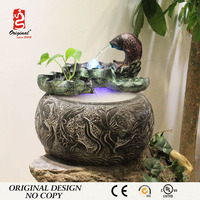 12 Years Factory Hand Carved Landscape Stone Water Fountains