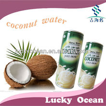 240ml Canned Natural Coconut Juice Without Pulp