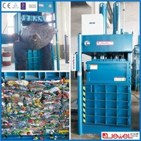 PET Bottle Hydraulic Vertical Baler,Baler Machine For Used Clothing,Hydraulic Waste Paper Baler