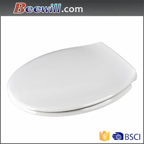 Hot selling urea toilet seat with soft close damper