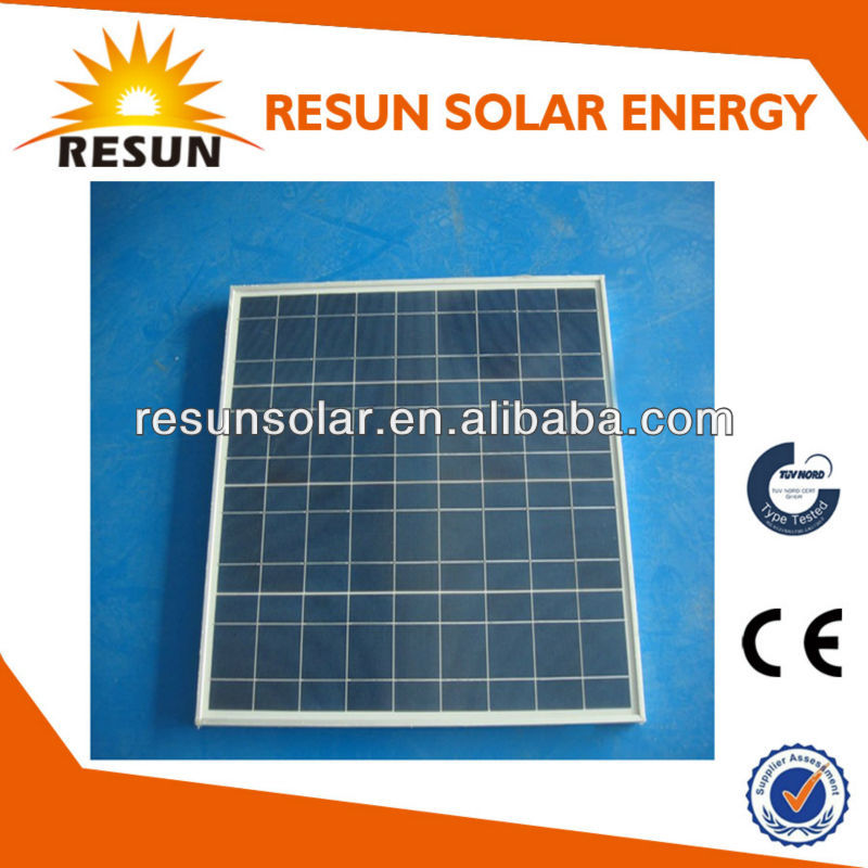 High quality 50w photovoltaic solar panel factory direct OEM with CE TUV certificates