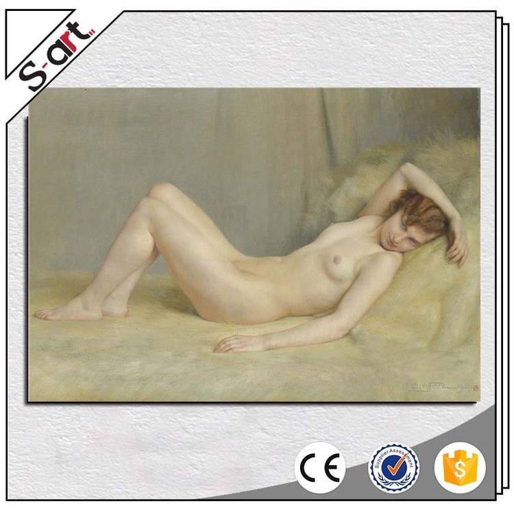 Romantic popular nude girls sexy oil painting