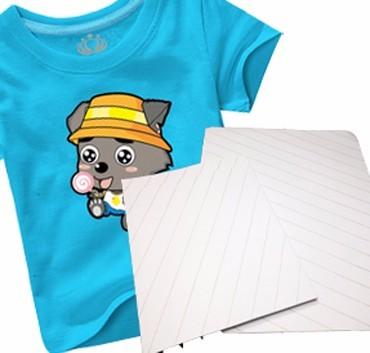A4/A3 Dark Iron-onT-shirt transfer paper on inkjet printer for cotton t-shirt