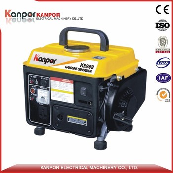 High quality 650W 0.8 Threephase gasoline generator fujian