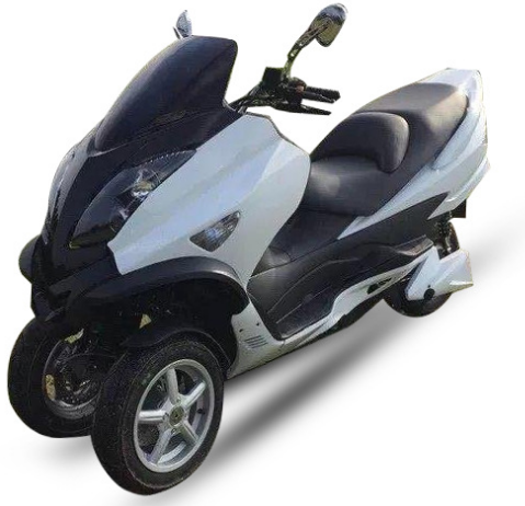 3000W / 5000W /8000 watts 72V20AH Electric scooter / electric motorcycle with three wheel scooter